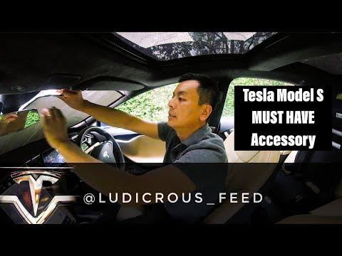 Tesla Model S - Essential Accessory - Heatshield Windscreen Sunshade
