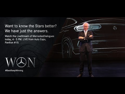 Mercedes Dialogues Live from Delhi Auto Expo 2016