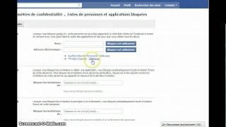Comment débloquer un(e) ami(e) sur Facebook ??
