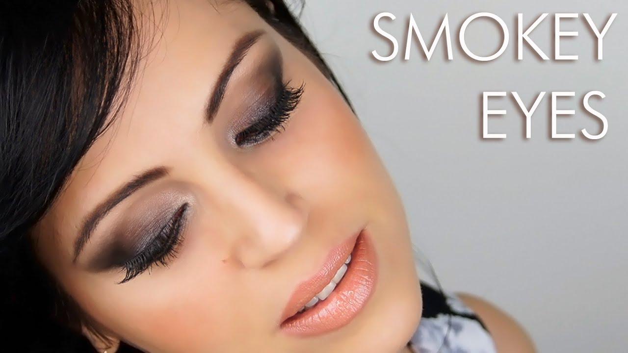 abbastanza Smokey Eyes Marrone - YouTube HT01