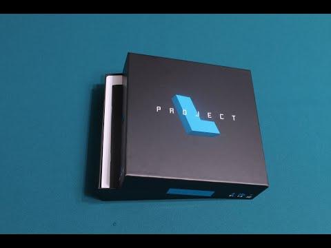 Проект L. Открываем коробку с настольной игрой. Project L. Unboxing.