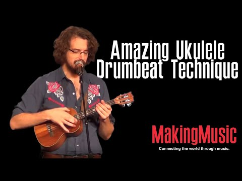 Amazing Ukulele Drumbeat Technique