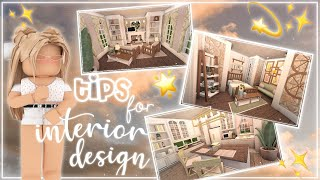 Tips and Tricks for Interior Designs on Bloxburg!  Nixilia