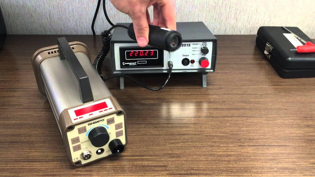 Tachometer Calibrator, Stroboscope Calibrator - MT2013