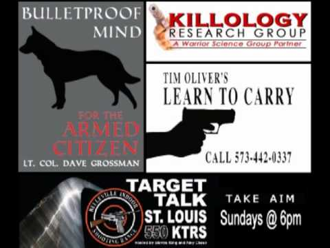 Lt. Col. Dave Grossman Interview for the Bulletproof Mind for the Armed Citizen Seminar pt.1