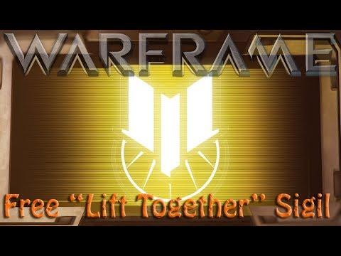 Warframe - Free Lift Together Sigil thumbnail