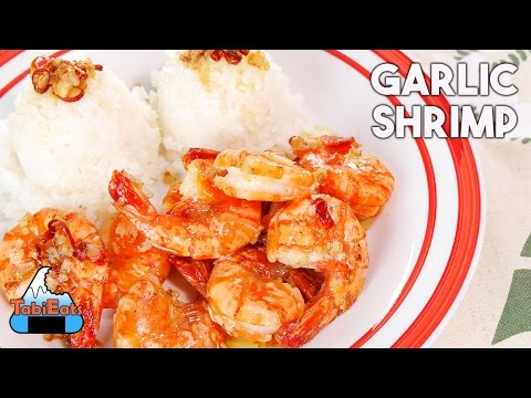 Garlic Shrimp (RECIPE) Hawaiian Local Cuisine