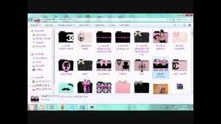 tutorial cara mengubah icon folder