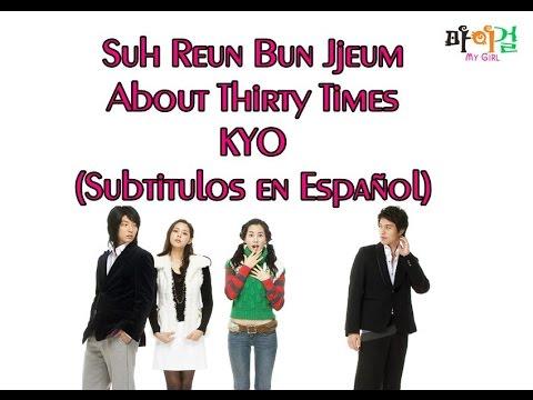 About Thirty Times – KYO (Sub Español)