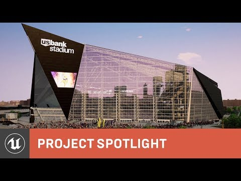 HKS: interactive ray-traced stadium design  | Project Spotlight | Unreal Engine