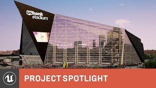 HKS: interactive ray-traced stadium design  | Project Spotlight | Unreal Engine