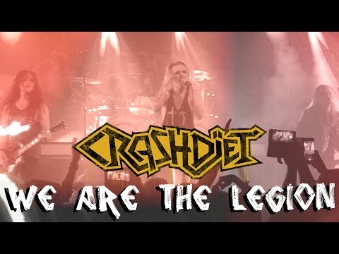 CRASHDÏET - We are the legion - OFFICIAL MUSIC VIDEO