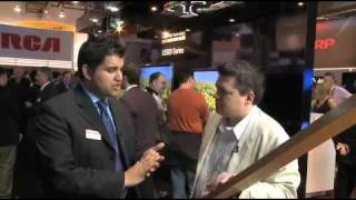 CES 2010 video - Sharp 3D TVs from Sharp(Andy Walker talks with Kevin Andre of Sharp Canada about 3D technology, and the 3D TVs that Sharp will be offering to the marketplace. A Internet video series ..., 2010-01-09T18:40:20.000Z)