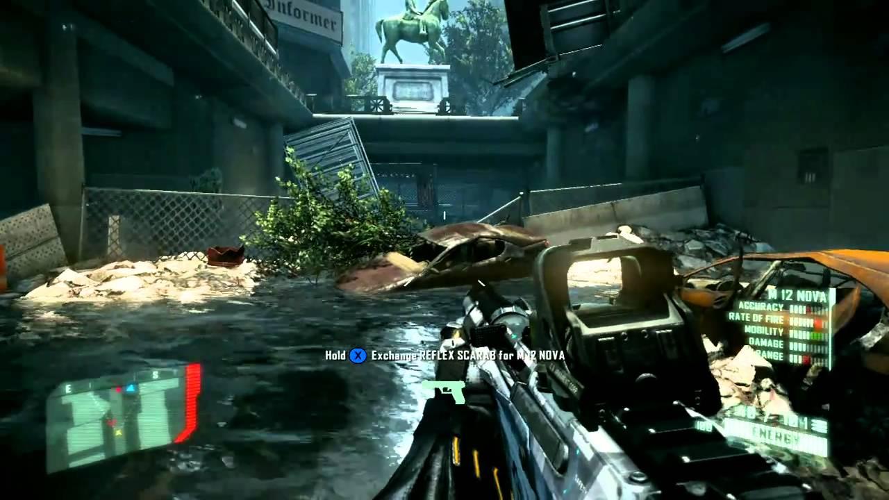 Fuse Xbox 360 Gameplay : Crysis xbox gameplay youtube