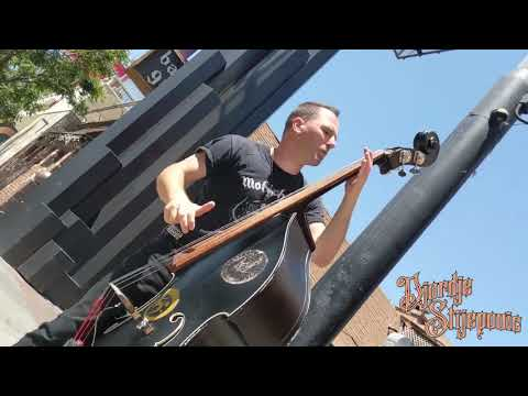 Ace of Spades by Motorhead (Upright Slap Bass Cover) - Djordje Stijepovic