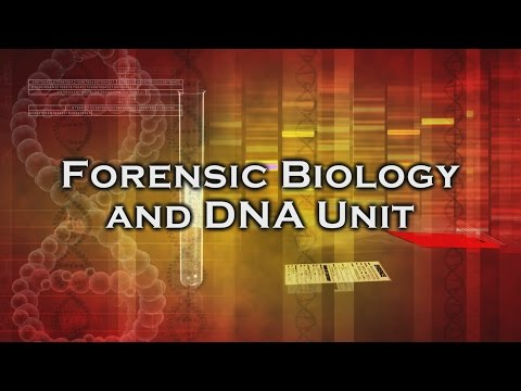 Inside The Crime Lab Forensic Biology Dna Unit Youtube