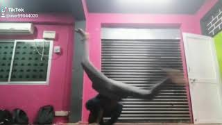 B boy practise video
