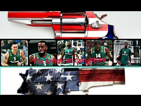 Panathinaikos B.C ● || The American Gangsters || 2017 / 2018 ᴴᴰ●