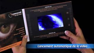 Brochure électronique : E-brochure - écran LCD