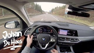 BMW X5 xDrive30d 265 hp POV test drive