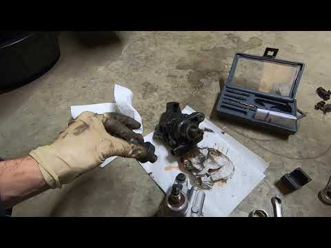 2006 Cadillac STS 4 POWER STEERING PUMP REPLACEMENT