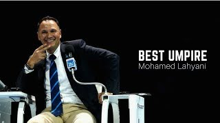 Tennis. One of the best umpire - Mohamed Lahyani