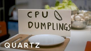 Can dumplings explain how computers work?