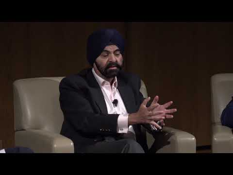 Distinguished Speaker Series: Ajay Banga (CEO, Mastercard) and Jud Linville (CEO, Citi Cards)
