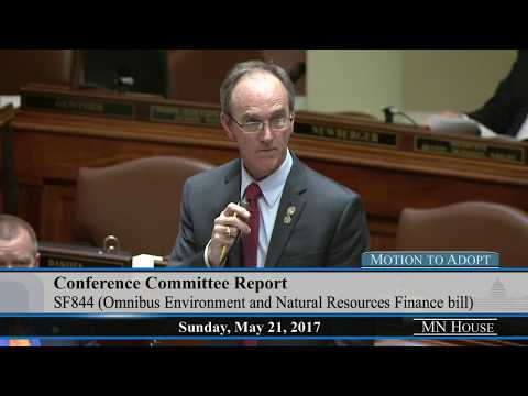 Omnibus Environment and Natural Resources Finance bill debate