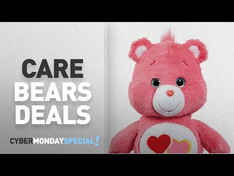 Top Cyber Monday Care Bears Deals: Care Bear Love-A-Lot Bear Plush Toy with DVD (Medium)
