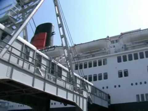 Queen Elizabeth 2 - QE2 - Ocean Liner, Cruise Ship, Icon. A study in Film