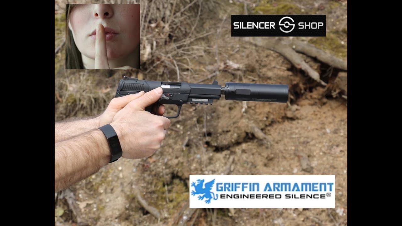 Griffin Armament Resistance 22M, Suppressor, Silencer Shop Authority