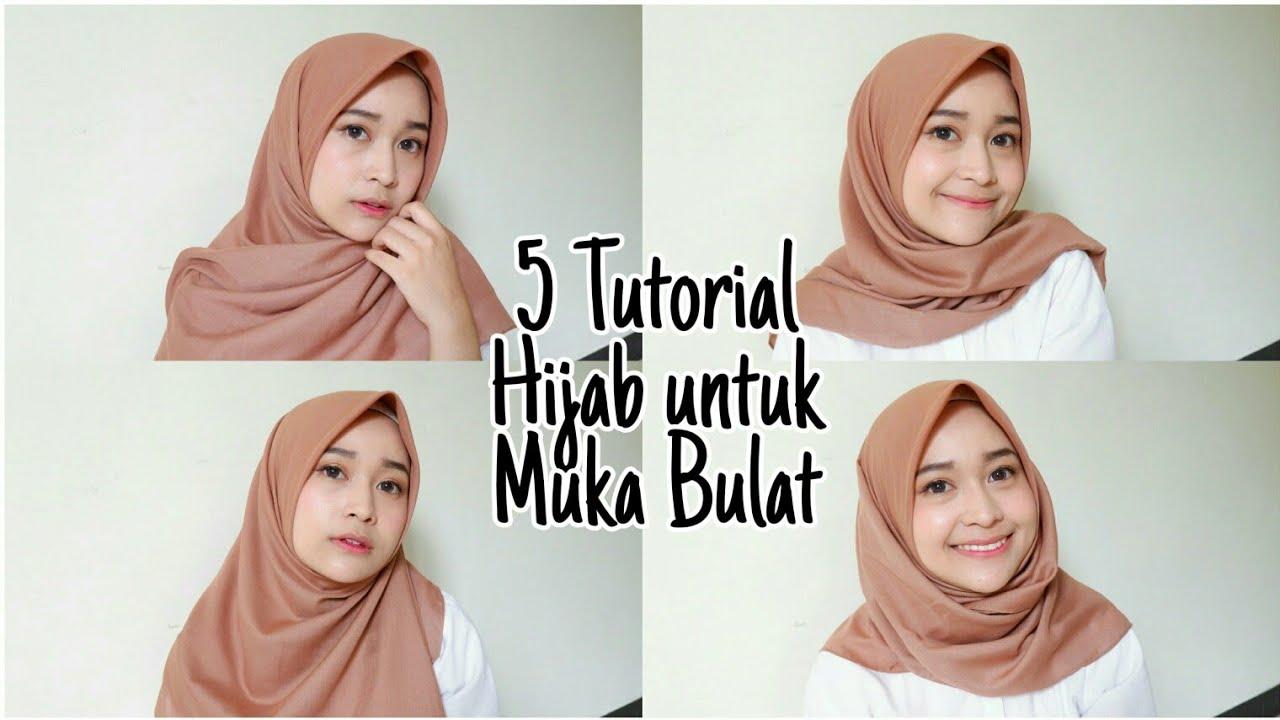 Cara Memakai Hijab Saudia Segi Empat Simple