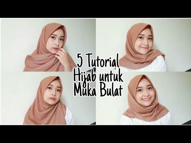 Video Tutorial Hijab Tren 2019 Jilbab Segiempat Untuk Pemilik Wajah Bulat Tribun Lampung