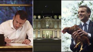 Un an de communication vidéo: comment Macron construit son image de président