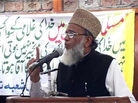 Ameer Jamaat e Islami Syed Munawar Hasan Addressing Seerat Conference Part 2