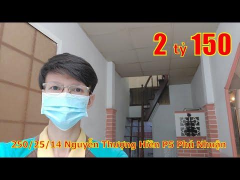 Livestream Bán Nhà Hẻm 250 Nguyễn Thượng Hiền Phú Nhuận, Giá 2 Tỷ 150 Triệu (Tl)
