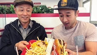 和家人一起到加州最紅的漢堡店! In-N-Out 有機會一定要試試看! 【Sam Lin VLOG】