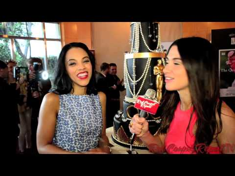 Bianca Lawson at 2014 airweave and GBK Luxury Gift Lounge #OscarsGBK @Biancot4
