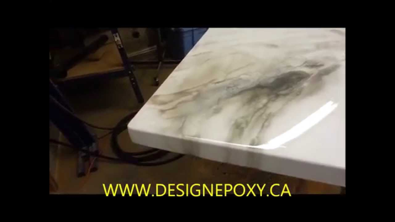 Comptoir Epoxy Countertop Youtube