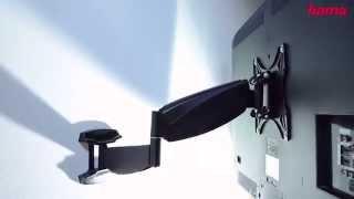 Хама Пневматический Настенный Кронштейн для Телевизора 2.0. Кронштейны Hama для Телевизоров