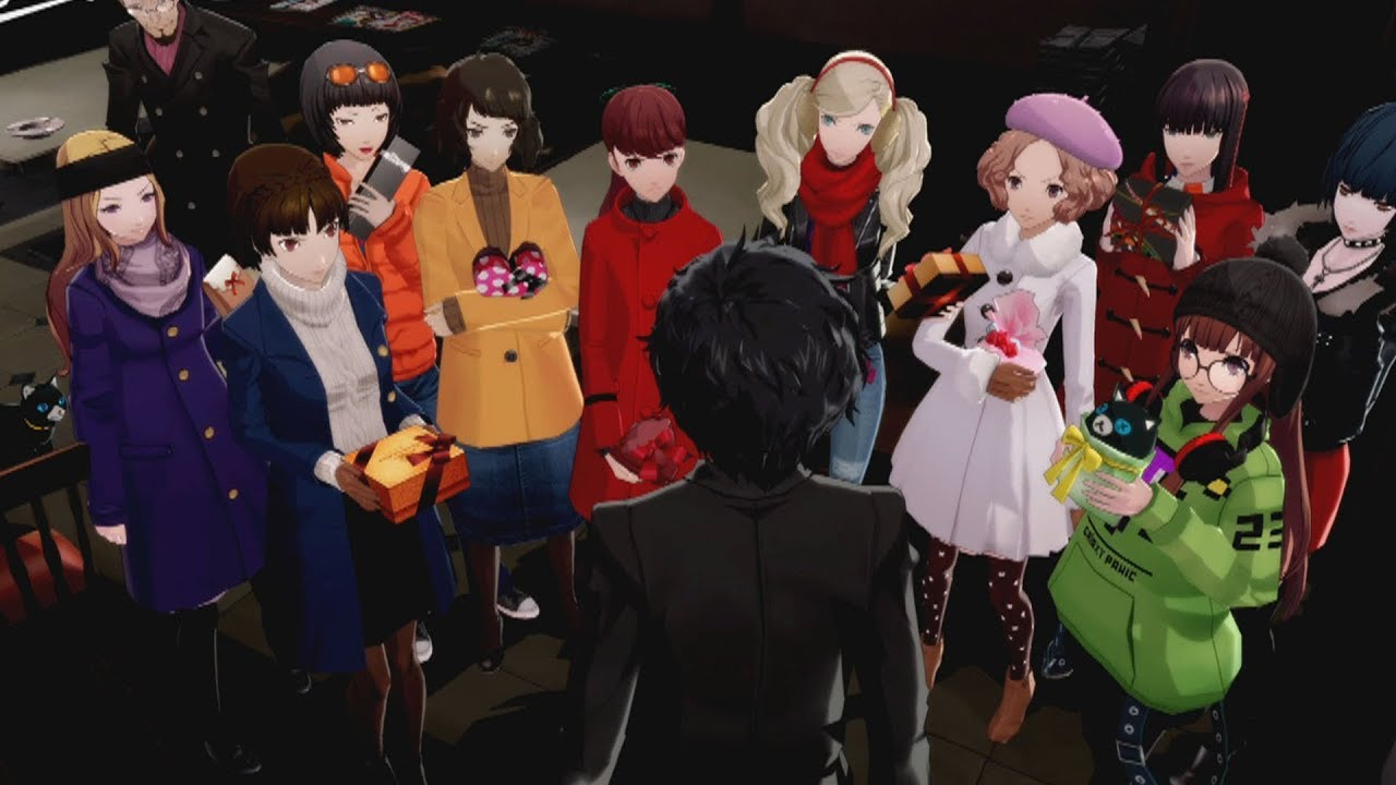 Persona 5 Royal Valentines Day Gone Wrong All Females Youtube