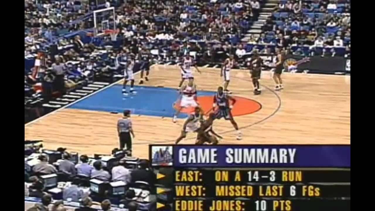 ec51e73e7b5 1997 NBA All Star Game {3} - YouTube