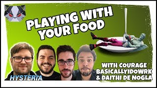 Hysteria | Fortnite - Playing with Your Food - Squads: CouRage, Daithi De Nogla & BasicallyIDoWrk