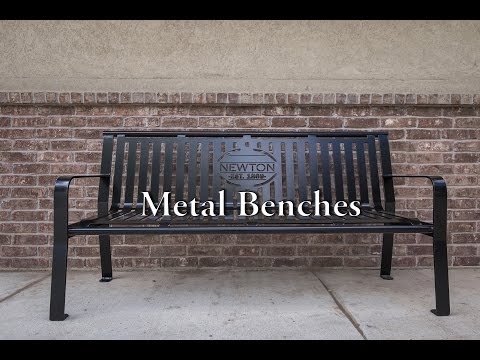 What Can Be Powder Coated: Metal Benches