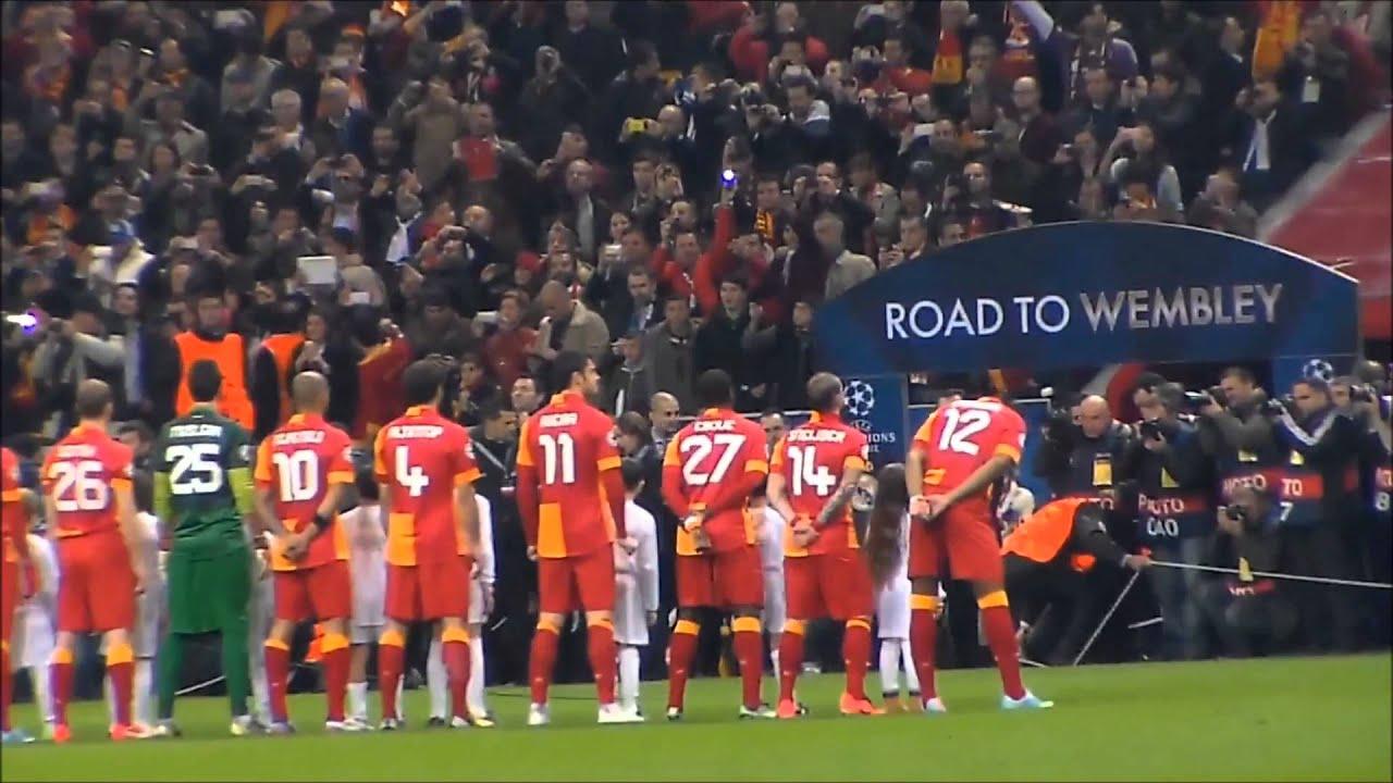 Şampiyonlar Ligi: Galatasaray Şampiyonlar Ligi ... Tiribün Çekimi Full Hd