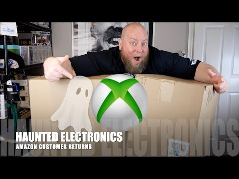 I bought a $2175 Amazon Customer Returns ELECTRONICS Box + XBOX ONE Games & CAPTURED GHOST ON CAMERA