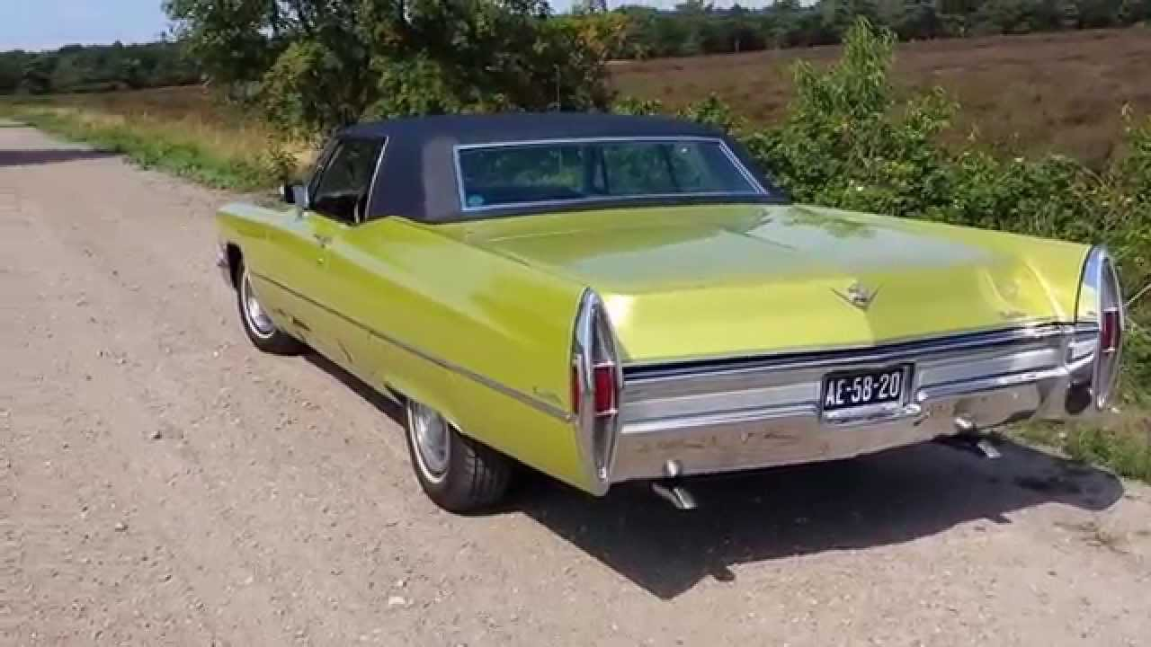 1968 cadillac coupe deville walkaround youtube publicscrutiny Image collections