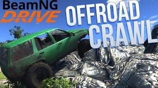 Offroad Rock Crawling - BeamNG Drive Gameplay Highlights