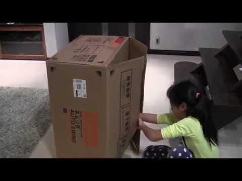 Первая покупка электронной люльки-стульчика Combi ''Nemulila''.